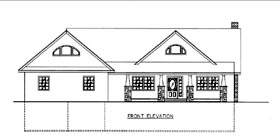 House Plan 85811 Elevation