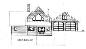 House Plan 85813 Elevation