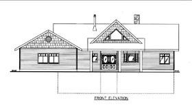 House Plan 85815 Elevation