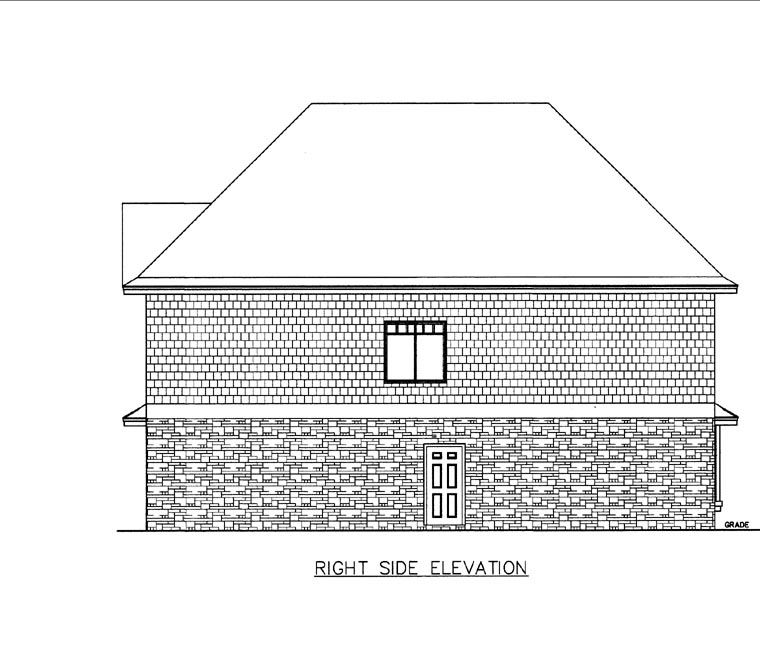 4 Car Garage Apartment Plan 85818 with 3 Beds, 2 Baths Picture 2
