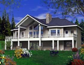 House Plan 85819 Elevation