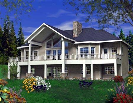 House Plan 85819 Elevation