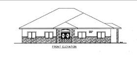 House Plan 85824 Elevation