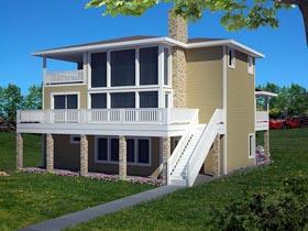 House Plan 85829 Elevation