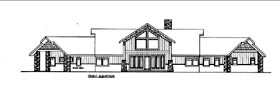 House Plan 85831 Elevation