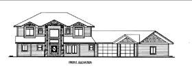 House Plan 85832 Elevation