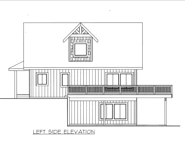 House Plan 85833 with 3 Beds, 3 Baths Picture 1