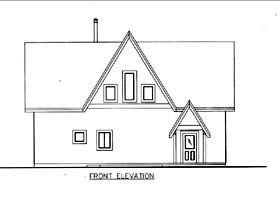 House Plan 85836
