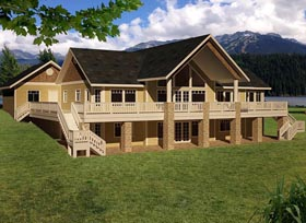 House Plan 85837 Elevation