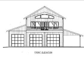 House Plan 85841 Elevation