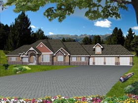 House Plan 85844 Elevation