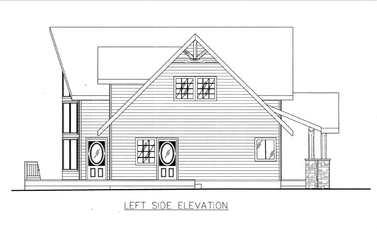 House Plan 85846 with 3 Beds, 3 Baths Picture 1