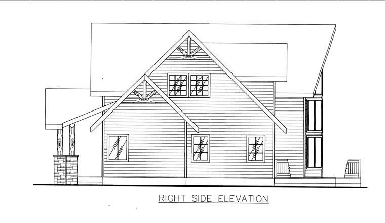 House Plan 85846 with 3 Beds, 3 Baths Picture 2