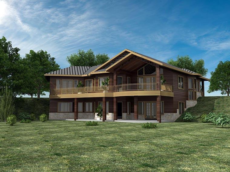 House Plan 85854 Elevation