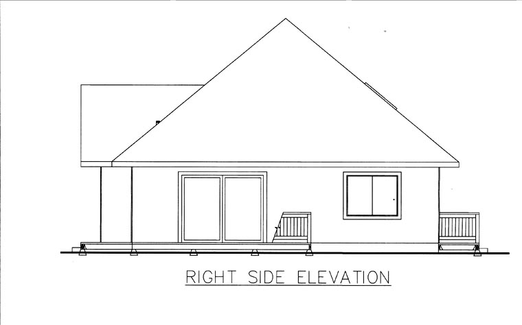 House Plan 85855 with 3 Beds, 1 Baths Picture 2