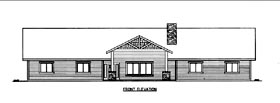 House Plan 85856 with 10 Beds, 12 Baths Elevation