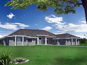 House Plan 85857 Elevation