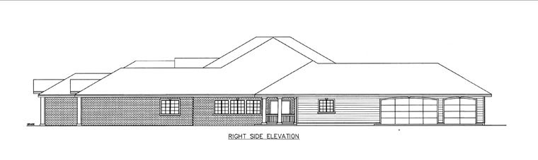 House Plan 85857 with 10 Beds, 7 Baths, 3 Car Garage Picture 2