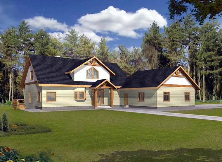 House Plan 85859 Elevation