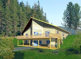 Coastal House Plan 85861 Elevation