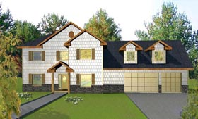 House Plan 85862 Elevation