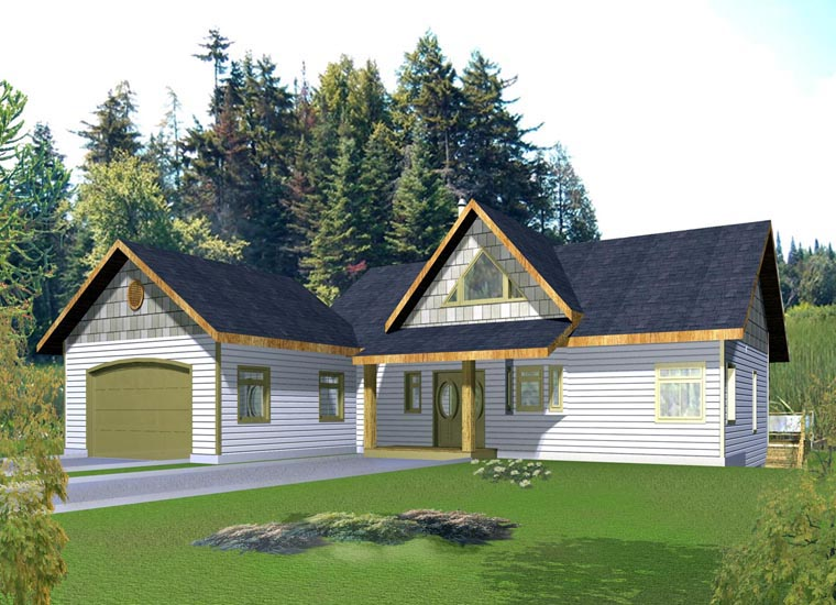 House Plan 85863 Elevation