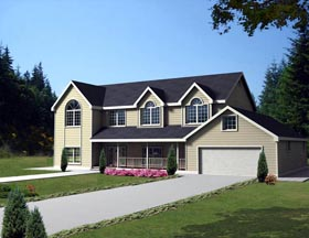 Country House Plan 85866 Elevation