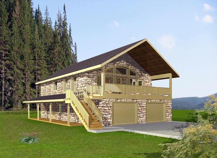 Coastal House Plan 85867 Elevation