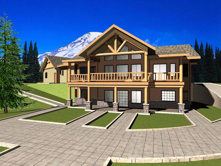 House Plan 85881 Elevation