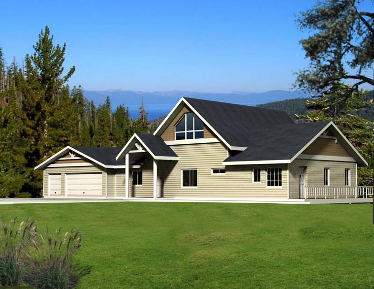 House Plan 85885 Elevation