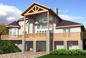 Contemporary House Plan 85886 Elevation