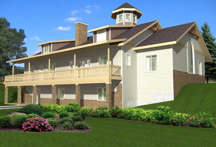 Coastal House Plan 85887 Elevation
