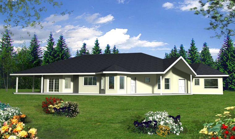 Contemporary House Plan 85888 Elevation