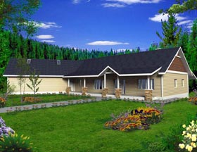 House Plan 85889 Elevation