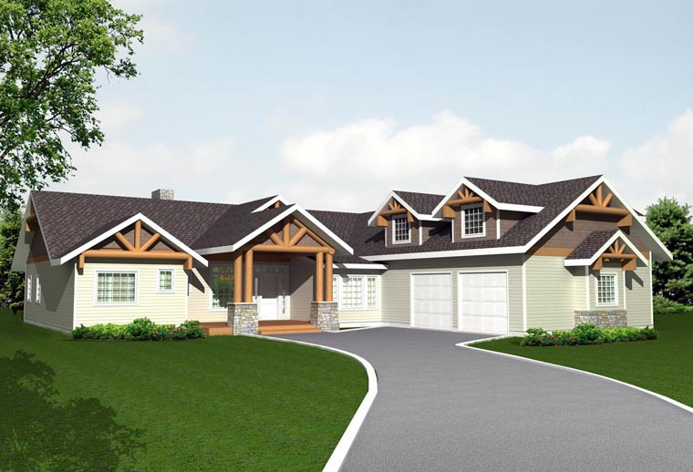 House Plan 85891 Elevation