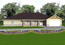 House Plan 85893 Elevation