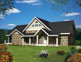 House Plan 85898 Elevation