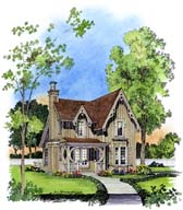 Plan Number 86001 - 1247 Square Feet
