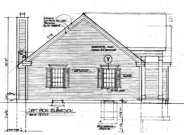 Colonial Southern House Plan 86002