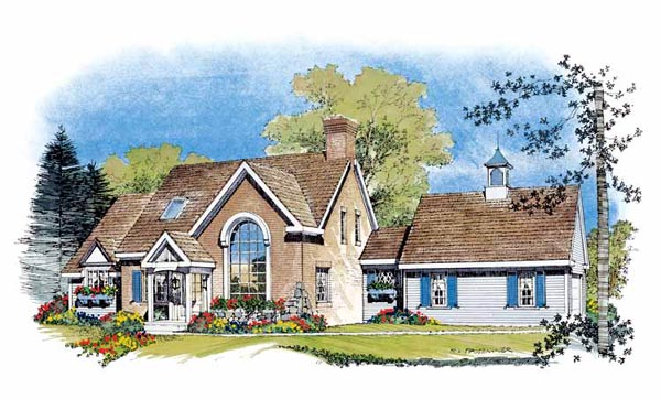 Traditional House Plan 86004 Elevation