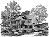 Plan Number 86007 - 1467 Square Feet