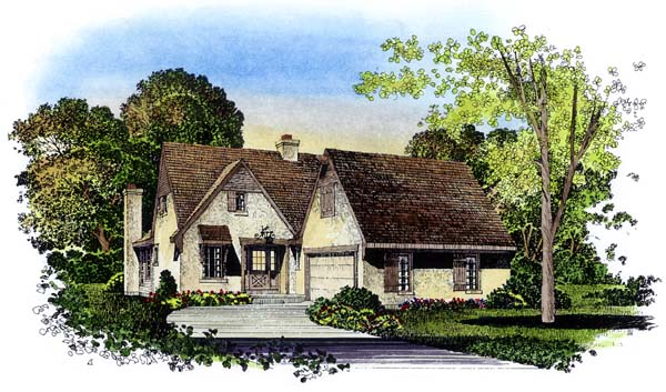 Traditional House Plan 86009 Elevation