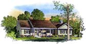 Plan Number 86010 - 1550 Square Feet