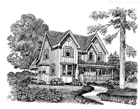 Country House Plan 86014 Elevation