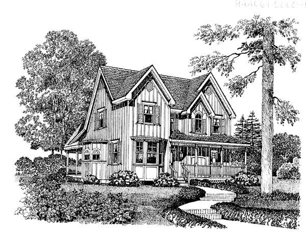 House Plan 86014