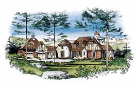 Tudor House Plan 86016 Elevation