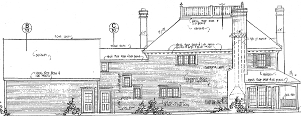 Colonial Southern House Plan 86017 Rear Elevation