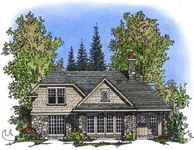 Bungalow Craftsman Tudor House Plan 86028 Elevation