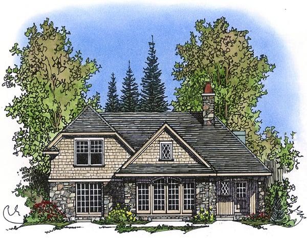 House Plan 86028