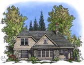 Plan Number 86028 - 1390 Square Feet